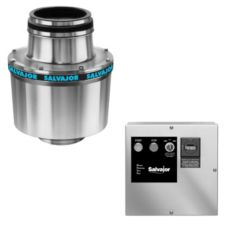 Salvajor 200-SA-3-MRSS-LD Disposer with Sink Assembly / Safety Line
