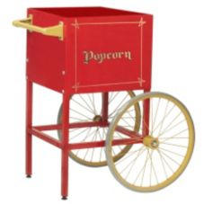 Gold Medal® 2689CR Red Popcorn Cart for Model 2408 Popper