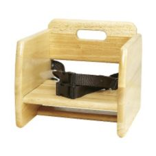 G.E.T.® BS-200-N Natural Finish Wood Booster Seat