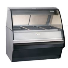 Alto-Shaam TY2SYS-48/P-BLK Self Service Hot Deli Display Case