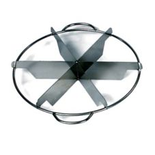 Browne Foodservice 856 Stainless Steel 6-Slice Pie Cutter