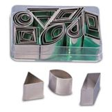 J.B. Prince T201 42-Piece Geometric Cutter Set