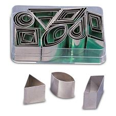 J.B. Prince T201 42-Piece Geometric Cutter Set