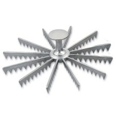 Browne Foodservice 8412 Cast Aluminum Twelve-Cut Pie Marker