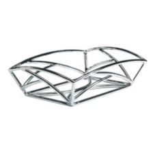 "Delfin BK-96EM 9"" x 6"" x 2"" Solid Steel Element Basket"