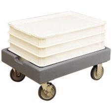 Cambro CD1826PDB180 Camdollies® Light Gray Dolly for Dough Box