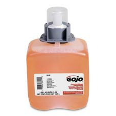 Gojo® 516203 1250 mL Foam Antibacterial Hand Wash Refill - 3 / CS