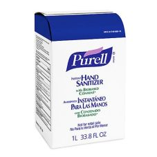 PURELL® 35405608 1000 mL Instant Hand Sanitizer Refill - 8 / CS
