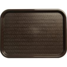 Carlisle® Cafe Standard Tray, Chocolate
