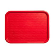 Carlisle® CT121605 Red Cafe® Standard Tray - Dozen