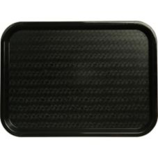 Carlisle® CT121603 Black Cafe Standard Tray - Dozen