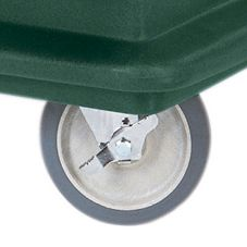"Replacement 6"" Swivel Caster w/ Brake for Beverage Service Carts"