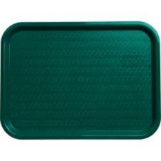 Carlisle® CT121615 Teal Cafe Standard Tray - Dozen