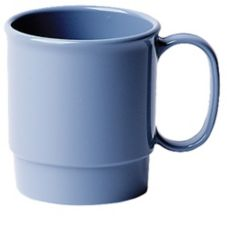 Cambro 75CW401 Camwear® Slate Blue 7.5 Oz. Stacking Cup - 48 / CS