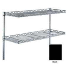 Metro® 1248CSNBL Super Erecta® 12 x 48 Black Cantilever Shelf