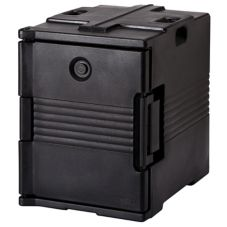 Cambro® UPC400110 Black Front Loading Ultra Pan Carrier®