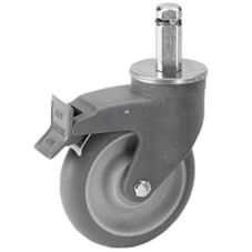 Cambro CSCSL Swivel Caster with 1-Direction Lock for Camshelving®