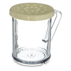 Carlisle® 426004 Yellow Shaker / Dredge with Cheese Lid