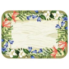 "Dinex® Sage Garden Tray Cover for 14"" To 18"" Trays"