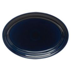 """Homer Laughlin 456105 Fiesta Cobalt Blue 9-5/8"""" Oval Platter - Dozen"""