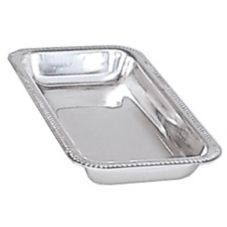 "Adcraft® 11"" x 5-3/4"" S/S Celery / Relish Tray"