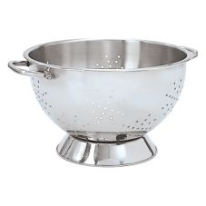 "Adcraft® HDC-3 9"" Stainless Steel Colander"
