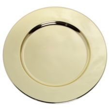 "Carlisle® 608925 12"" Brass Charger Plate"