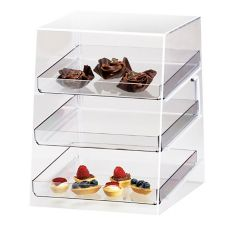 "Cal-Mil P257 Countertop Slant Front 10 x 15 x 13"" Display Case"