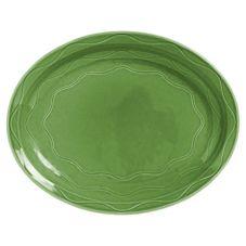 "Syracuse 903035001 Cantina® Sage 13-5/8"" Platter - 6 / CS"
