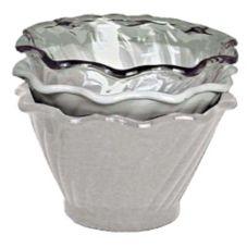 Adcraft® ICC-5CL 5 Oz. Plastic Clear Dessert Dish - Dozen