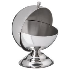 Carlisle® 609132 14 Oz. Stainless Steel Roll-Top Covered Dish