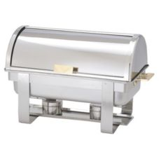 Adcraft® ROL-1 S/S Grand Prix 8 Qt Roll Top Chafer