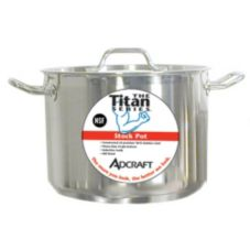Adcraft SSP-8 Titan Series 8 Qt. S/S Induction Stock Pot With Cover
