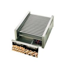 Star® 45SCBD CSA Grill Max® 45-Hot Dog Grill with Bun Drawer