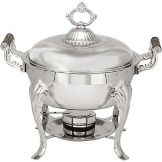 Adcraft® CAM-5 5 Qt. Round Camelot Chafer