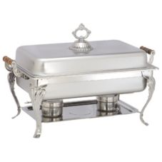 Adcraft® LAF-7 Sculptured Series S/S 8 Qt. Oblong Chafer