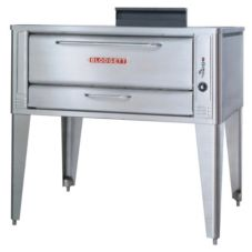 "Blodgett 1048 SINGLE S/S Deck Type 48"" Gas Single Pizza Oven"