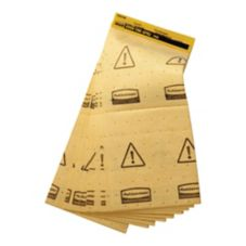 Rubbermaid® FG425500YEL Mini Over the Spill® Pad - 25 / PK