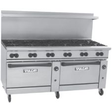 Vulcan Hart 72SC-12B Endurance Gas Restaurant Range with 12 Burners