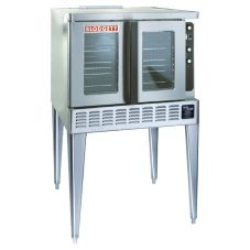 Blodgett Gas Convection Bakery-Depth Single Oven w/ 1 Base and Cart