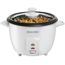 ProctorSilex 37533N 10 Cup White Non-Stick Rice Cooker