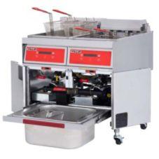 Vulcan Hart 2ER50DF 50 lb Cap. Dual Electric Fryer w/ KleenScreen®