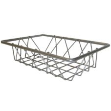 "Dover European Metalworks Nickel Chrome 6 x 9"" French Pastry Tray"
