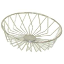 "Dover European Metalwork D-1160CS Steel 12"" Round Euro Basket"