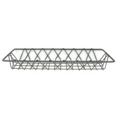 "Quadra-Tech TRAYFP618 6"" x 18"" French Pastry Tray / Basket"