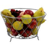 "Dover European Metalwork D-40S Steel 9-1/2 x 14"" Pear Basket"