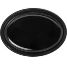 Carlisle® 791403 Designer Displayware™ Black Oval Platter