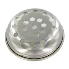 "Carlisle® 607540 Metal Shaker Lid with 1/4"" Holes"