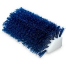 "Carlisle® 4042314 10"" Blue Hi-Lo Floor Scrub Brush"