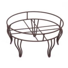 "Willow Specialties 18"" Round Metal Display Stand"